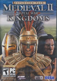 Medieval II Total War Kingdoms Expansion PC Game New IB 010086852219