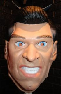WWE Vince McMahon Full Face Mask Vinyl WWF Halloween Mask