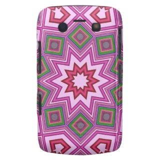 Abstract Pattern Blackberry bold case with Star