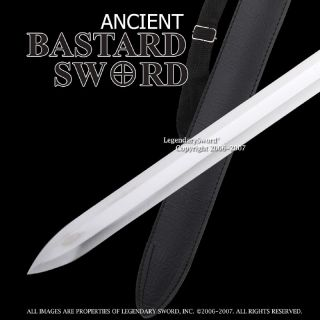 44 Medieval Bastard Sword Practical Templar Knight Crusader Two