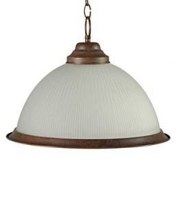 Pacific Coast Lighting, Frosted Glass Shade Pendant