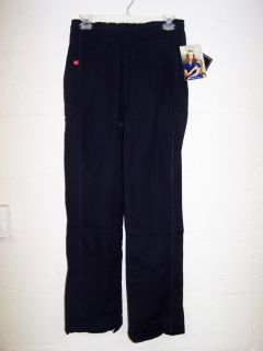 Dickies Medical Uniforms Daisy 100 Cotton Vintage Navy Scrub Pants XS