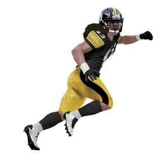 McFarlane NFL 29 Troy Polamalu Action Figure Preorder July 2012