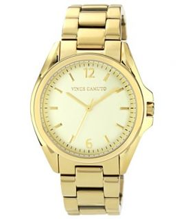 Vince Camuto Watch, Womens Gold Tone Stainless Steel Bracelet 39mm VC
