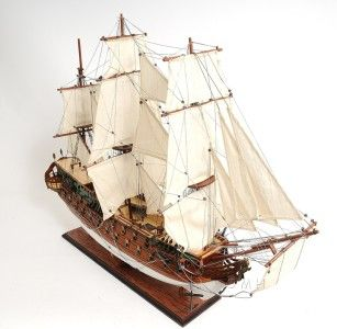 MAGNIFICENT NORSKE LOVE HANDMADE PAINTED WOODEN SAIL BOAT MODEL 38