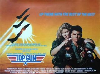 Top Gun 11 x 17 Movie Poster Tom Cruise McGillis UK A