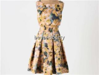 New Anthropologie McGinn Gunilla Dress Size 8 10