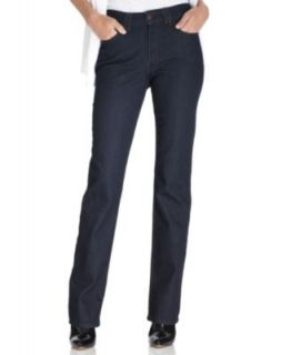Not Your Daughters Jeans Straight Leg Jeans, Marilyn BluBlack Wash