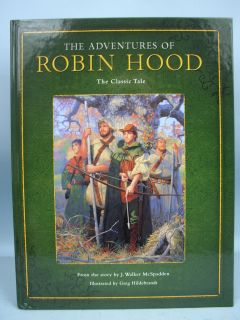 Book The Adventures of Robin Hood by McSpadden 2005 0762421975