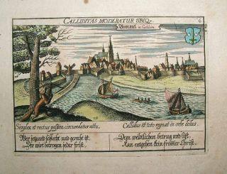 1627 Meisner View ZALTBOMMEL Netherlands, Waal, Bizarre Allegorical