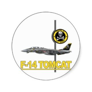 VF 84 JOLLY ROGERS F 14 TOMCAT STICKERS