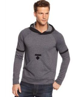 Armani Jeans Hoodie, Full Zip Fleece Lined Hoodie   Mens Hoodies