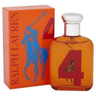 Lauren Big Pony Collection #4 Orange Mens Colonge 4.2oz Fragrance NIB