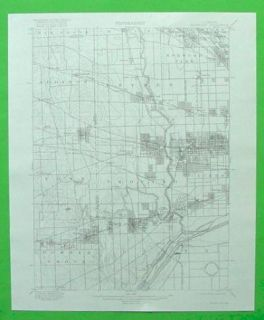 Riverside Melrose Maywood Illinois 1899 Topo Map