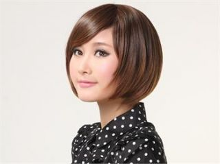 Womens Short Straight Hair VS Hairstyle Synthetic Full Wigs NA40