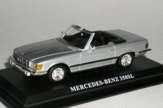 Mercedes Benz 350 SL Silver 1971 1 43