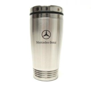 Mercedes Benz Logo Tumbler Coffee Cup Travel Mug 16oz