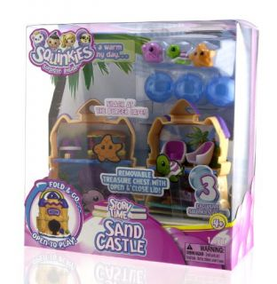 Squinkies Girls Folding Playset Sand Castle