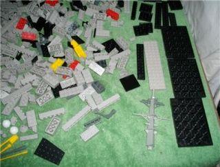 Mega Bloks 9795 USS Nimitz Pro Builder Aircraft Carrier