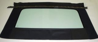 Mercury Comet Cyclone Montego MX 1968 71 Convertible Rear Glass Black