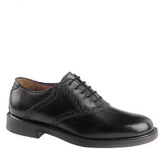 Johnston Murphy Mens Durst Saddle Dress Shoes Black Calfskin 20 1259