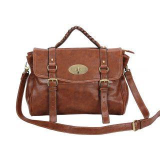 UK Style Faux PU Leather Shoulder Bag Handbag Messenger Bag Cross Body