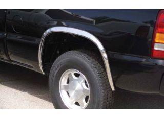 Fender Trim Set 4pc Dodge RAM Full Size Stainless Steel 97301