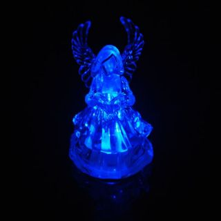 Merry Christmas 1pcs Fairy Lighted Reading Angel RGB LED Night Lampe