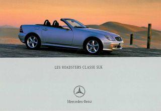 1998 1999 2000 2001 Mercedes Benz SLK 230 SLK320 Factory Service