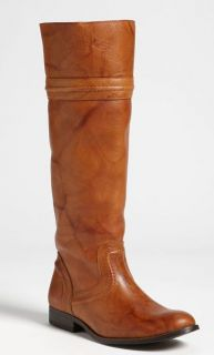 Frye Melissa Trapunto Saddle Leather Riding Boots Size 10 $358 Tall