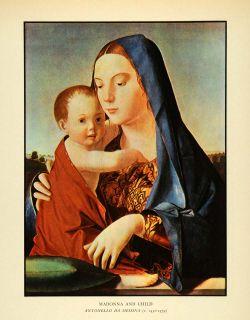 Madonna Child Antonello da Messina Artwork Religion Mary Jesus Robe
