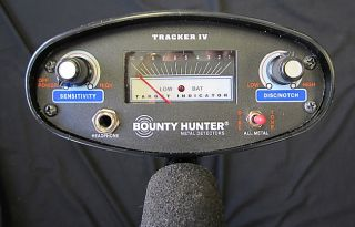 Bounty Hunter Metal Detector Tracker IV