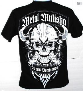 Metal Mulisha H74 Viking T Shirt Brand New 100 Authentic
