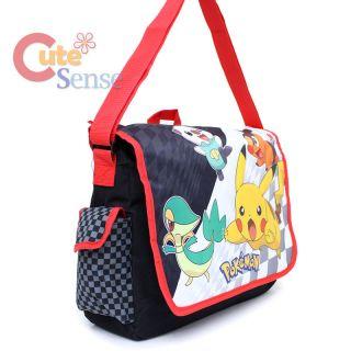 School Messenger Bag Black White Diaper Shoulder Cross Body Bag