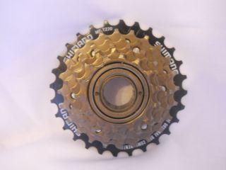Bicycle Shimano Rear Gear Freewheel Cassette 7 Speed MF TZ21