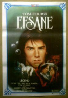 Turkish Movie Poster Legend Tom Cruise Ridley Scott