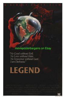 Legend Movie Poster 27x41 RARE Intl Ver Tom Cruise