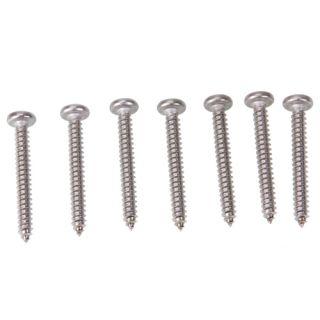 Pcs Stainless Steel Pan Head Sheet Metal Screws Screw 10x1 2