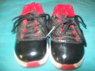 Boys Toddlers Michael Air Jordan Basketball Sneakers Shoes 5c 5 Black