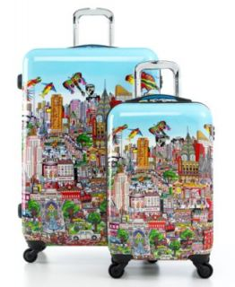 Heys Luggage, Britto Butterfly Hardside Spinner   Luggage Collections