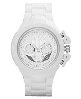 exchange watch women s black silicone bracelet 39x28mm ax3121 $ 140 00