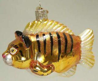 Merck Familys Christmas Ornament Kitty Catfish 6574369