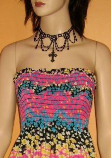 New Strapless Sundress Babydoll Stretch Ladies Swim Cover Up Dress
