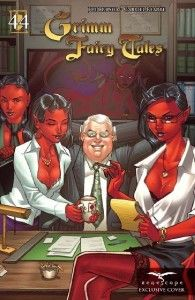 Grimm Fairy Tales 44 B Devils Brother Pekar Variant