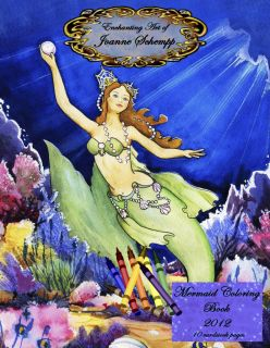 Fairy Angels 2011 Coloring Book 8x11 Fantasy 10 Pages Crayola Paint