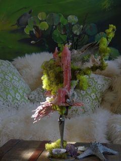 Ocean Wedding Candle Holders Candlestick Candelabra Mermaid Sculpture