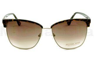 Michael Kors Sunglasses M2472S Griffin 206 Tortoise Gold Clubmaster