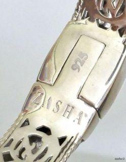New Zasha by Jude Frances Pearl Enamel Cuff Bracelet