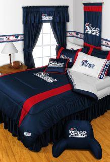 New England Patriots Twin Full Queen Comforter Bed Set