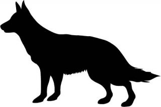 German Shepherd Dog Car Van Sticker Graphic Decal 3
